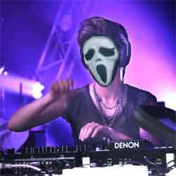 Halloween Shining Mask  LED Scream Face Mask